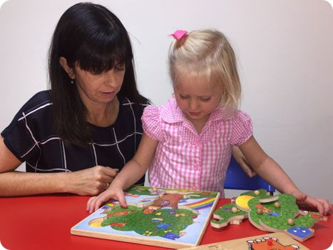 childs speech pathologist